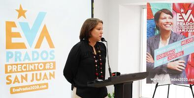 Eva Prados busca impugnar en los tribunales la elección del distrito 3 de San Juan