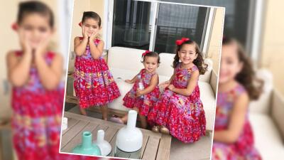 Así es como hemos visto crecer a las hijas de Jacqueline Bracamontes