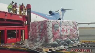 En medio de una gran tensión, la Cruz Roja ingresa el primer cargamento de ayuda humanitaria a Venezuela