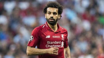 La UEFA excluye a Salah de los 20 mejores jugadores de la Champions 2018-2019
