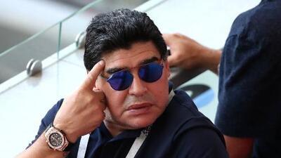 Diego Armando Maradona rompió el silencio y explicó su situación de salud