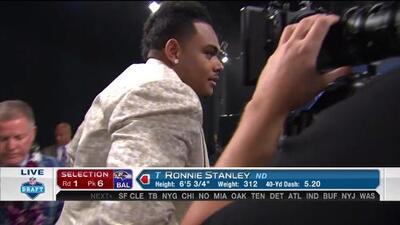 Pick 6 (Baltimore Ravens): Ronnie Stanley, T, Notre Dame