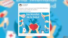Las reacciones del deporte durante el Día Mundial de la Salud