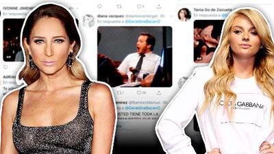 ¡Booooom! Geraldine Bazán saca las garras contra Irina Baeva en Twitter y recibe una ovación hecha memes