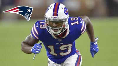 New England Patriots contrata al WR Corey Coleman por un año