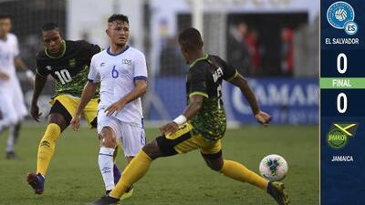 Jamaica se animó muy tarde y dividió puntos con El Salvador