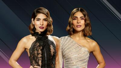 Los dos glamurosos vestidos de Alejandra Espinoza para la semifinal de NBL