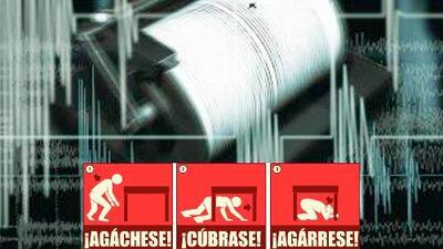 Lo que debes de hacer en caso de un terremoto
