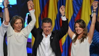 Los colombianos eligieron a Juan Manuel Santos