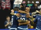 Futbol Retro | Argentina golea y Messi ya es el máximo goleador de la Albiceleste