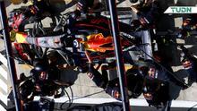 Red Bull impuso récord mundial de parada de pits en Brasil