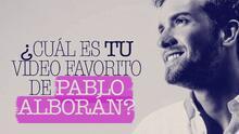 Los tres mejores videos de Pablo Alborán, según su fan army