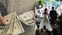 Novia le pidió dinero a sus invitados para asegurarles lugar en su boda