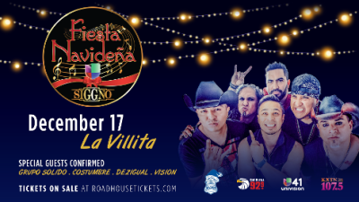 Siggno Will Be Headlining Fiesta Navideña
