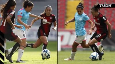 Atlas y Rayadas no se hacen daño en la ida de Cuartos de Final