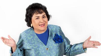 Carmen Salinas rompió en llanto al conocer a su bisnieto