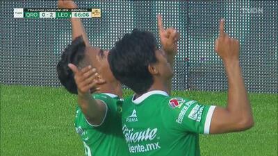 León sacó las garras y con Ángel Mena anotó el 0-2