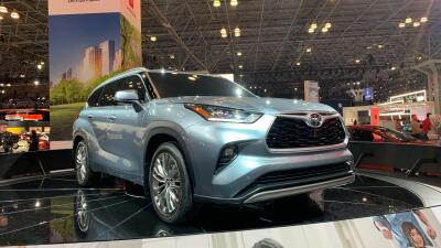 Nueva York 2019: Toyota Highlander 2020
