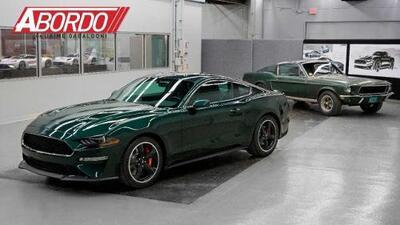 Detroit Auto Show 2018: Ford Mustang Bullitt 2019 - A Bordo