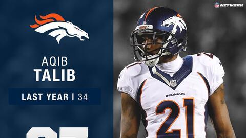 #37: Aqib Talib (CB, Broncos) | Top 100 Jugadores 2017