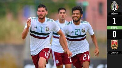 México venció a China y pasó a semis del Maurice Revello en Toulon