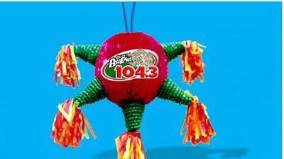 ¡Gánate la piñata navideña de La Qué Buena 104.3!