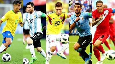 ¡Cuatro de cinco! Suramérica pasó la prueba de grupos en el Mundial de Rusia 2018