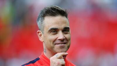 Robbie Williams actuará en la inauguración del Mundial