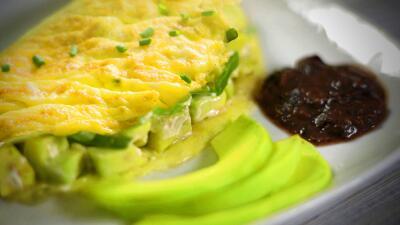 Del omelette a la gloria sólo hay un aguacate #ElRecetario