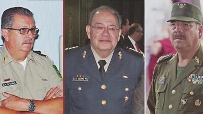 Estos son algunos de los nombres de altos mandos del Ejército mexicano presuntamente sobornados por el narcotráfico