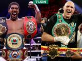 Pelea Anthony Joshua vs. Tyson Fury se celebrará en Arabia Saudita