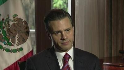 Habla en exclusiva Enrique Peña Nieto
