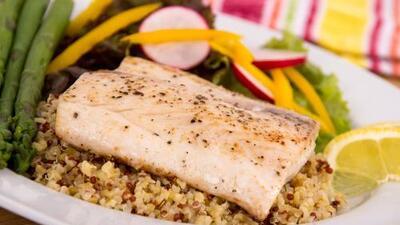 Quinoa con pescado y brócoli | Reto 28