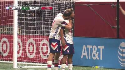¡GOOOL! Josef Martínez anota para MLS All-Stars