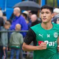Uriel Antuna cae en goleada del Heracles sobre el Groningen