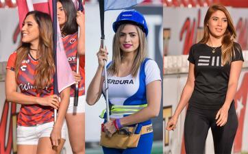 El espectáculo de las porristas en la apertura de la Jornada 4 del Clausura 2019