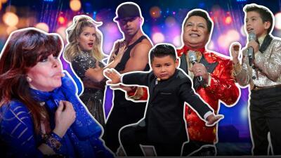 Noche de homenajes a grandes estrellas en Pequeños Gigantes 2019