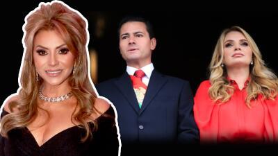 """Daniela Castro cree que su amiga Angélica Rivera """"está bien"""" tras la separación de Enrique Peña Nieto"""