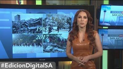 Las redes sociales recuerdan los terremotos que sacudieron a México