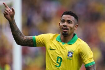 En fotos: Con un 'touchdown' Brasil supera sin problemas a Honduras