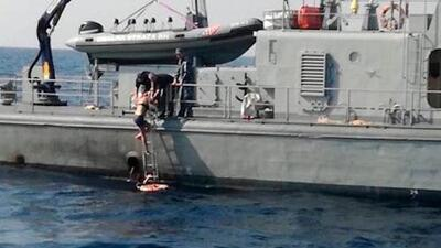 Rescatan a mujer después de pasar 10 horas en el mar tras caer de un crucero