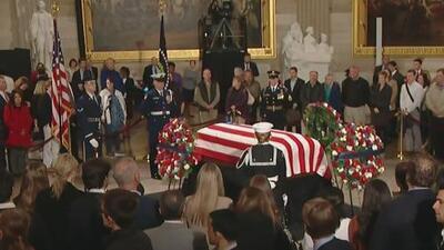 Declaran día de luto nacional por la muerte de George H.W. Bush