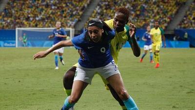 Brasil no pudo con Sudáfrica, mientras que China y Suecia avanzan a cuartos de final
