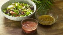 Aderezos refrescantes para ensaladas