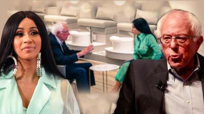 Cardi B deja por un momento los escenarios para unirse a Bernie Sanders: de esto hablaron