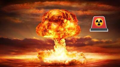 ¿Qué harías si te llega una alerta de bomba nuclear?