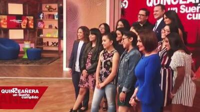 Nerviosas pero decididas a triunfar: así vivieron las quinceañeras de Despierta América su primera vez en TV