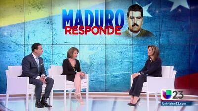 """Maduro a Trump: """"Más temprano que tarde estamos obligados hablar y a entendernos"""""""