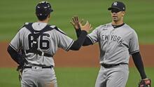 Los Yankees apalean a los Indians en el arranque de los juegos de comodín