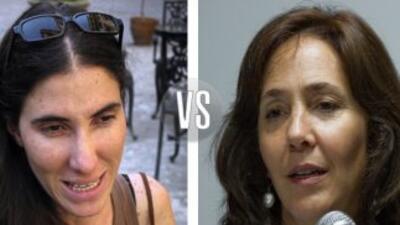 Pelea de Yoani Sánchez y Mariela Castro en Twitter